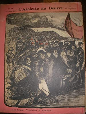 REVUE N°16 - 18 JUILLET 1901: L'ASSIETTE AU BEURRE