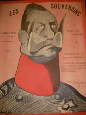 LES SOUVERAINS PAR LEAL DA CAMARA (N°19- 8 AOUT 1901): L'ASSIETTE AU BEURRE