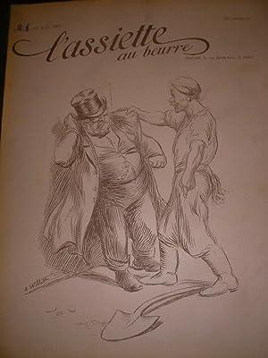 REVUE N°21- 22 AOUT 1902: L'ASSIETTE AU BEURRE