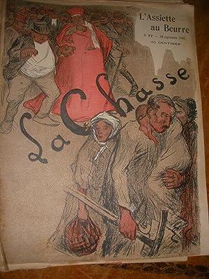 LA CHASSE PAR EUGENE CADEL (N°77-20 SEPTEMBRE 1902): L'ASSIETTE AU BEURRE