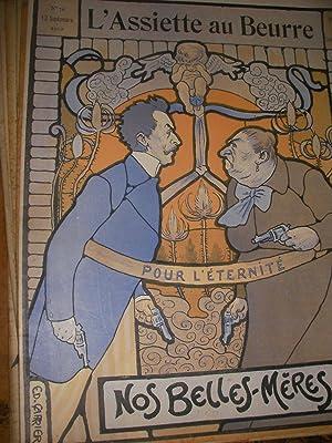 NOS BELLES-MERES PAR CARRIER (N°76-13 SEPTEMBRE 1902): L'ASSIETTE AU BEURRE