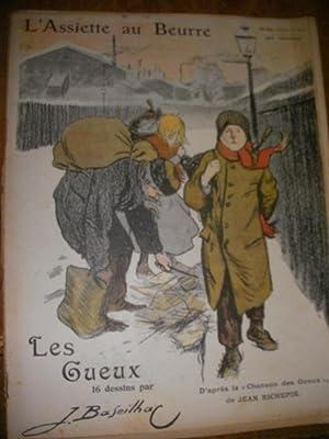 LES GUEUX PAR JACQUES BASEILHAC (N°81-18 OCTOBRE 1902): L'ASSIETTE AU BEURRE