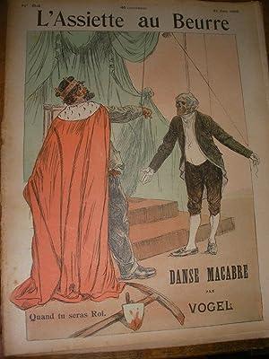 DANSE MACABRE PAR VOGEL (N°64-21 JUIN 1902): L'ASSIETTE AU BEURRE