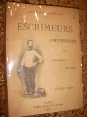 ESCRIMEURS CONTEMPORAINS: DE GOUDOURVILLE HENRY
