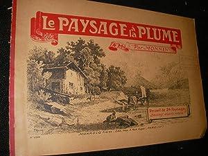 LE PAYSAGE A LA PLUME: DESSIN] MONNIN