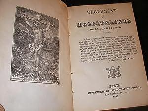 REGLEMENT DES HOSPITALIERS DE LA VILLE DE LYON