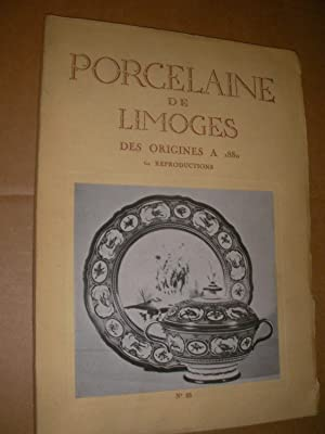 PORCELAINE DE LIMOGES DES ORIGINES A 1880: COLLECTIF