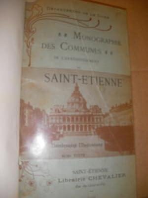 MONOGRAPHIE DES COMMUNES DE L'ARRONDISSEMENT DE SAINT-ETIENNE: FRERE MAXIME