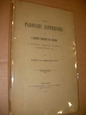 LES PAROISSES ANTONIENNES DE L'ANCIEN DIOCESE DE VIENNE - ST ANTOINE MARNANS ROYBON ST ...