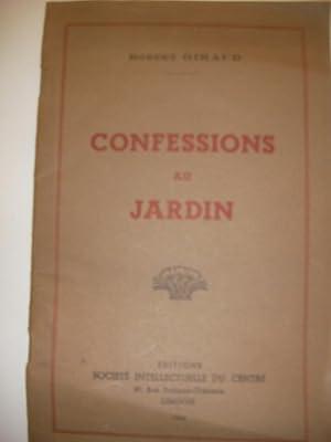 CONFESSIONS AU JARDIN: GIRAUD ROBERT