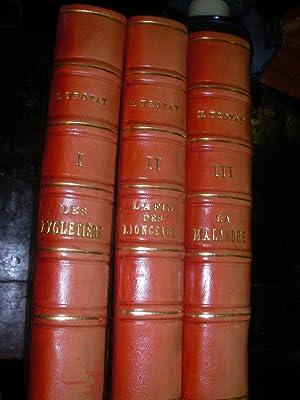LES EYGLETIERE- LA MALANDRE- LA FIN DES LIONCEAUX (3 VOLUMES): TROYAT HENRI