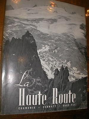 LA HAUTE ROUTE- CHAMONIX ZERMATT SAAS-FEE: ROCH ANDRE