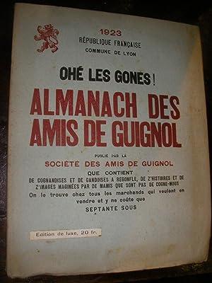 ALMANACH DES AMIS DE GUIGNOL 1923: SOCIETE DES AMIS DE GUIGNOL