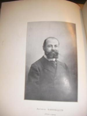 INAUGURATION DU MEDAILLON HANNEQUIN - 30 JANVIER 1913