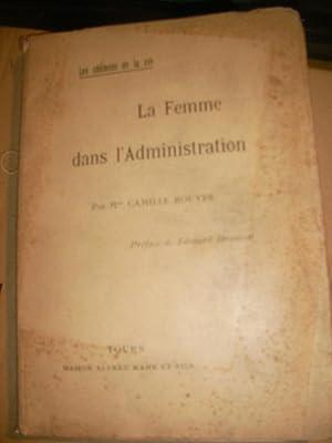 LA FEMME DANS L'ADMINISTRATION.: CAMILLE ROUYER