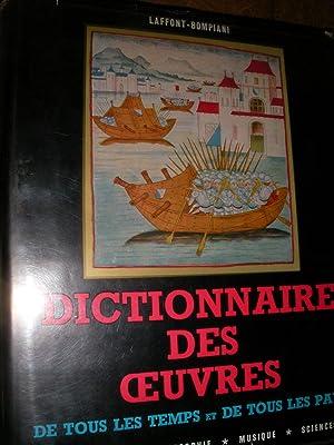 DICTIONNAIRE DES OEUVRES DE TOUS LES TEMPS ET DE TOUS LES PAYS TOME 2 SEUL( DI-H): LAFFONT-BOMPIANI
