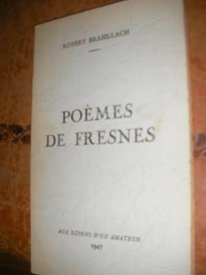 POEMES DE FRESNES: BRASILLACH ROBERT