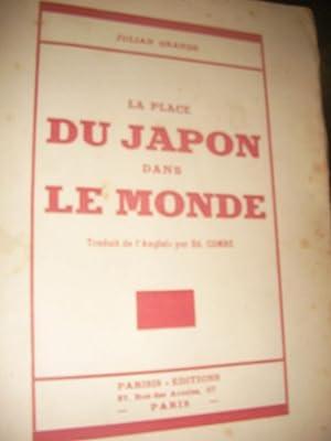 LA PLACE DU JAPON DANS LE MONDE: JULIAN GRANDE
