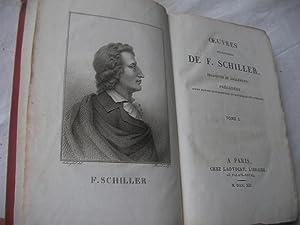 OEUVRES DRAMATIQUES DE F. SCHILLER (TOME 1 SEUL): SCHILLER
