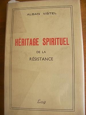 HERITAGE SPIRITUEL DE LA RESISTANCE: VISTEL ALBAN