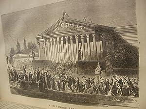 HISTOIRE DE LA GUERRE ENTRE LA FRANCE ET LA PRUSSE 1870-1871: ROME E.F.