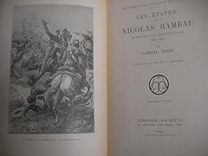 LES ETAPES DE NICOLAS RAMEAU - MEMOIRES D'UN SOUS-OFFICIER 1855-1872: FERRY GABRIEL