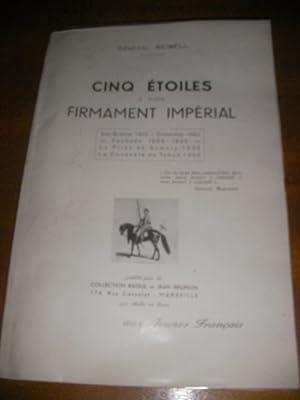 CINQ ETOILES A NOTRE FIRMAMENT IMPERIAL: GENERAL REIBELL