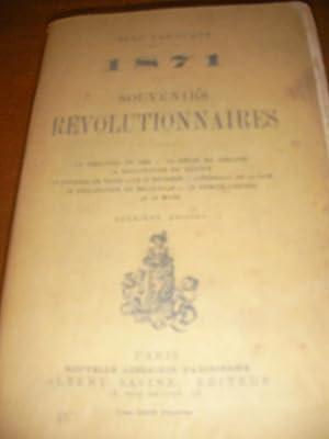 1871 SOUVENIRS REVOLUTIONNAIRES: LAROCQUE JEAN