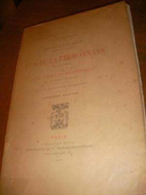 SOUVENIRS TIRES DES PAPIERS DU COMTE DE LA FERRONNAYS (1777-1814)- EN EMIGRATION: COSTA DE ...