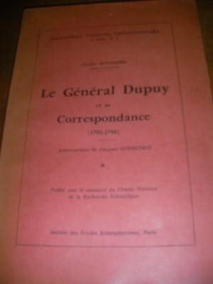 LE GENERAL DUPUY ET SA CORRESPONDANCE (1792-1798): PETITFRERE CLAUDE