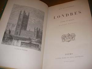 LONDRES- SCENES ET CROQUIS D'APRES NATURE: DE LAFOREST GUY