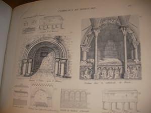 COURS D'ANTIQUITES MONUMENTALES- HISTOIRE DE L'ART DANS L'OUEST DE LA FRANCE- ATLAS ...