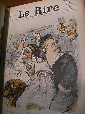 LE RIRE- 39 NUMEROS RELIES(ANNEE 1905): COLLECTIF