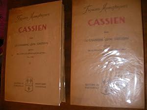 JEAN CASSIEN LA SPIRITUALITE DU DESERT: CRISTIANI LEON (Chanoine)