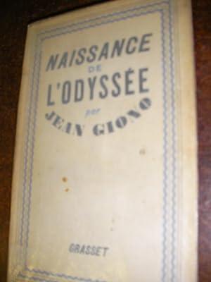 NAISSANCE DE L'ODYSSEE: GIONO JEAN
