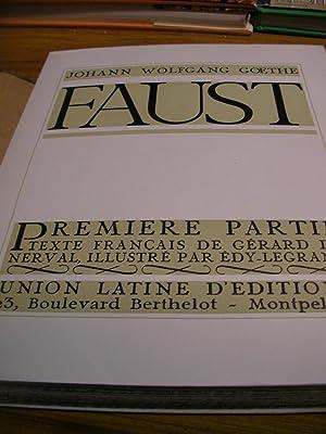 FAUST (2 TOMES): GOETHE J.-W.