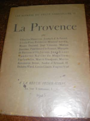 LA PROVENCE: LES SOIREES DU PETIT VERSAILLES II]-COLLECTIF