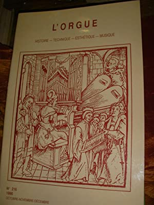 L'ORGUE 1990 N°215 -NUMERO SPECIAL JEHAN ALAIN: REVUE L'ORGUE) COLLECTIF