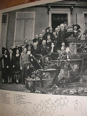 DEJEUNER DE LA LIBERATION 17 MARS 1945: MULHOUSE]ETABLISSEMENTS BRAUN ET COMPAGNIE