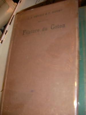AIDE MEMOIRE DE LA FILATURE DU COTON: HAEFFELE J.B.- DUPONT P.