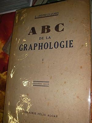 ABC DE LA GRAPHOLOGIE (2 TOMES): CREPIEUX-JAMIN J.