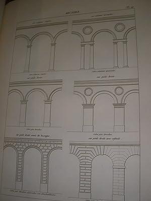 TRAITE DES CINQ ORDRES D'ARCHITECTURE ET DES PREMIERS ELEMENTS DE CONSTRUCTION: THIERRY