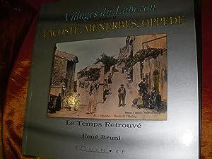 VILLAGES DU LUBERON TOME II: LACOSTE MENERBES: BRUNI RENE