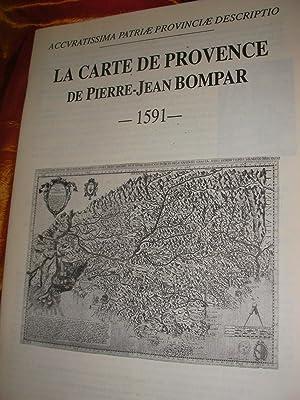 LA CARTE DE PROVENCE DE PIERRE-JEAN BOMPAR: BOMPAR PIERRE-JEAN -PICHARD