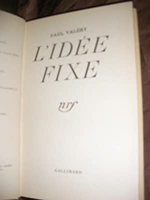 L'IDEE FIXE: VALERY PAUL