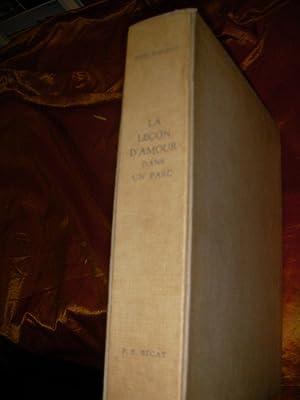 LA LECON D'AMOUR DANS UN PARC: BOYLESVE RENE-[P.S.BECAT]