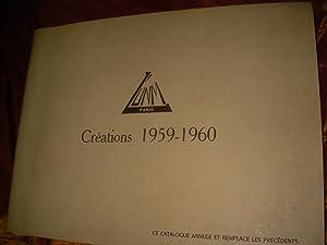 CREATIONS 1959-1960: L'U.N.M.