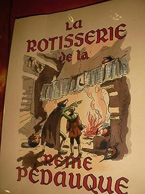 LA ROTISSERIE DE LA REINE PEDAUQUE: ANATOLE FRANCE-[JACQUES TOUCHET]