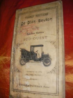FRANCE ROUTIERE DE DION-BOUTON SPECIALE POUR AUTOMOBILES SUD OUEST: CARTE ROUTIERE