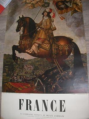 FRANCE- LA LORRAINE: NANCY LE MUSEE LORRAIN CLAUDE DERUET: MADAME DE SAINT-BASLEMONT(XVII°s) L&...